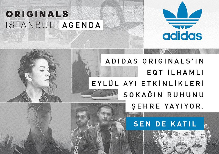 adidas Originals Ruhu Şehre Yayılıyor