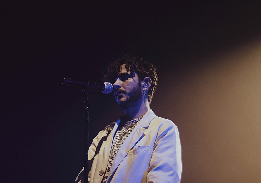 Oscar and the Wolf 22 Haziran'da Burç Beach'te
