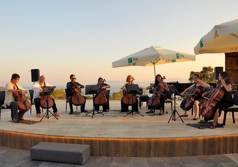 Türkiye'nin İlk Yeşil Festivali Gümüşlük'te