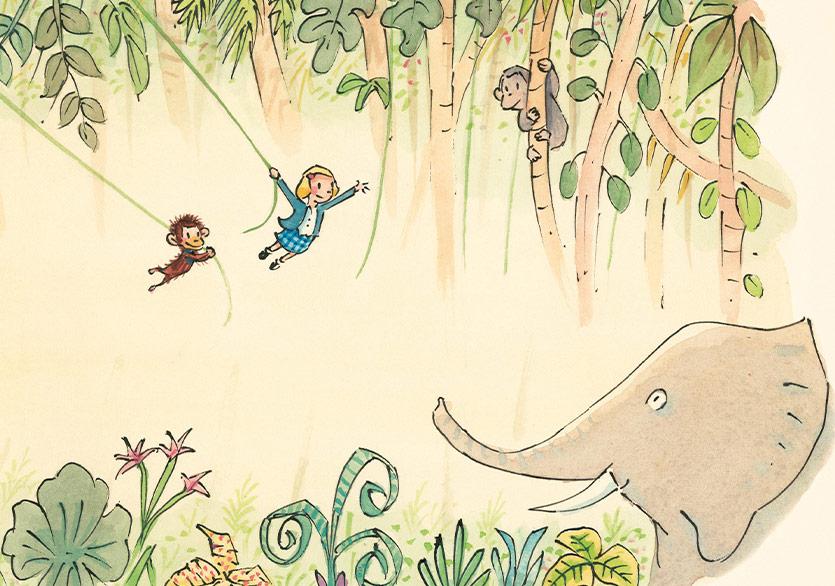 Dr. Jane Goodall'ın Çocukluğuna Yolculuk
