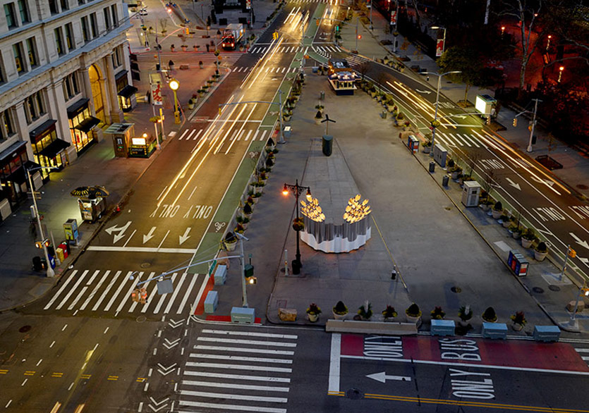 New York Şehrinin Görsel Gürültüsü