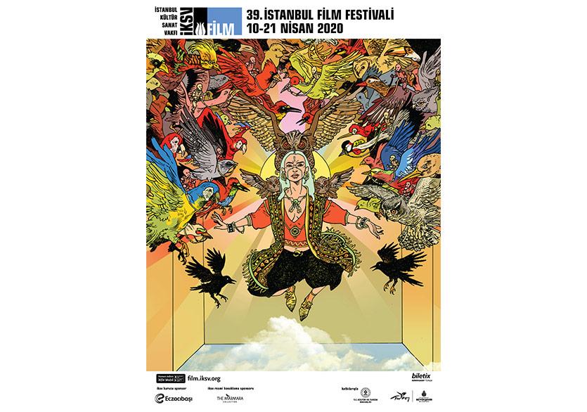 İstanbul Film Festivali'nin Afişi Yayımlandı
