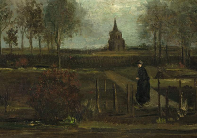 Van Gogh Tablosu Çalındı