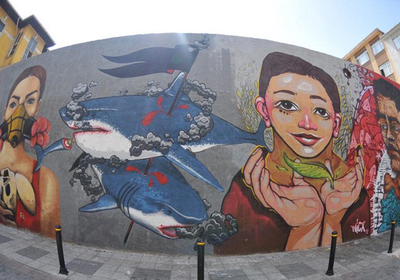 Mural İstanbul Festivali Kadıköy'de 5. Yılını Kutluyor