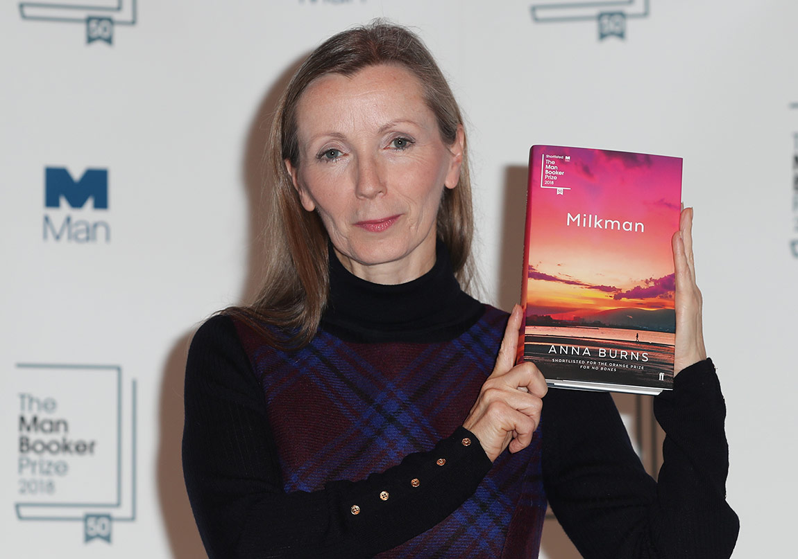 """2018 Man Booker Ödülü'nün Kazananı """"Milkman"""""""