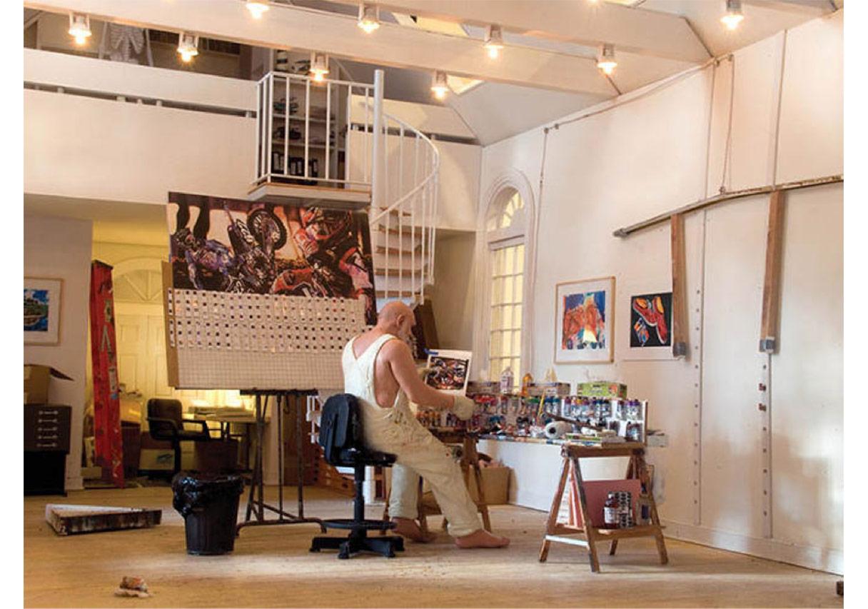 Warhol'un veya Manet'nin Stüdyosuna Gitmeye Ne Dersiniz?