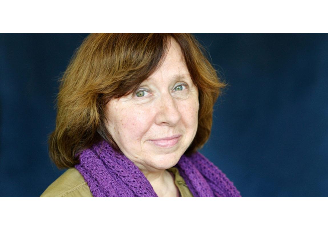 Nobel Edebiyat Ödülü  Svetlana Aleksiyeviç'in