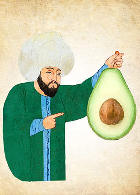 Avokadonun Osmanlı Macerası