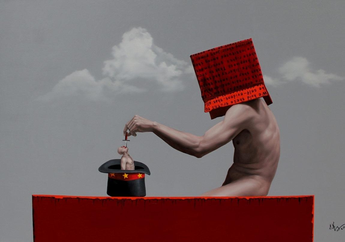 Karanlığı Bölen Kırmızı