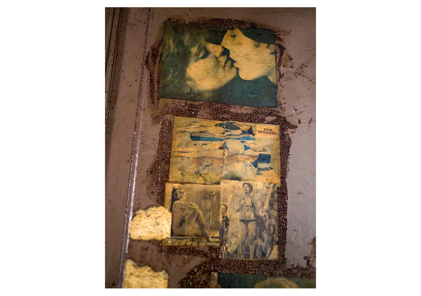 Ortaköy Erkek Yurdu Magazin Poster Kalıntıları#5