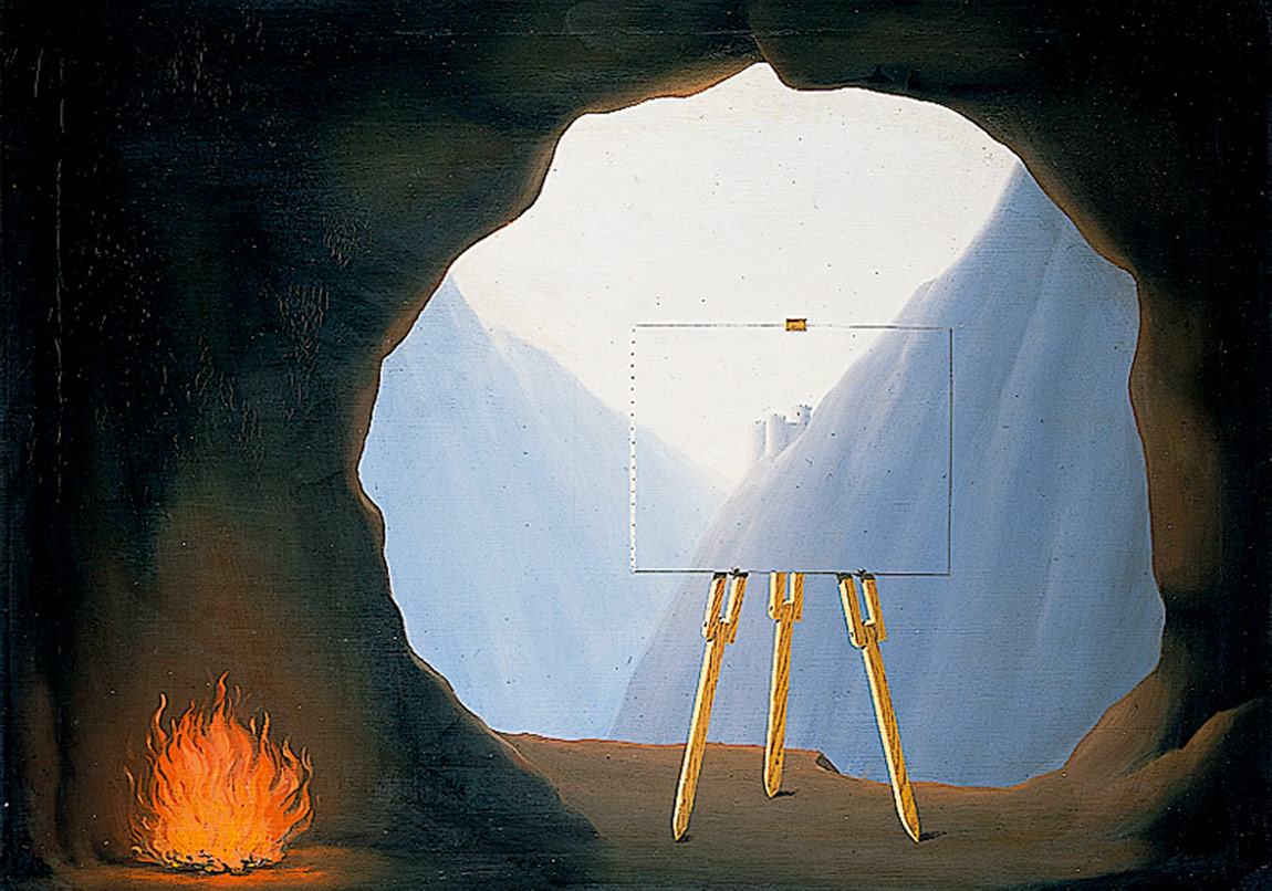René Magritte, La Condition Humaine,1935
