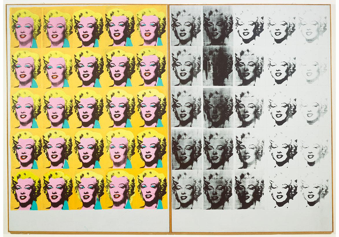 Pardon neye bakmıştınız 2: Andy Warhol, Marilyn Diptiği(1962)