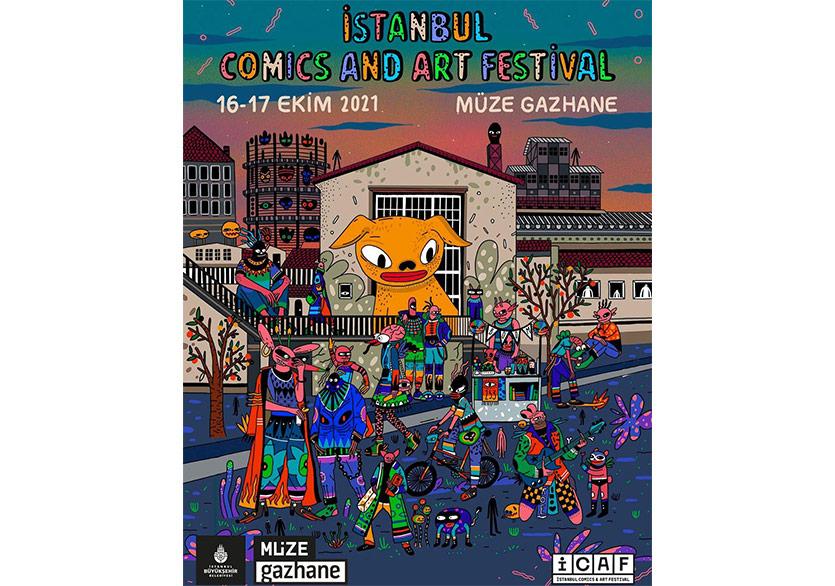 İstanbul Comics and Art Festival, Müze Gazhane'de