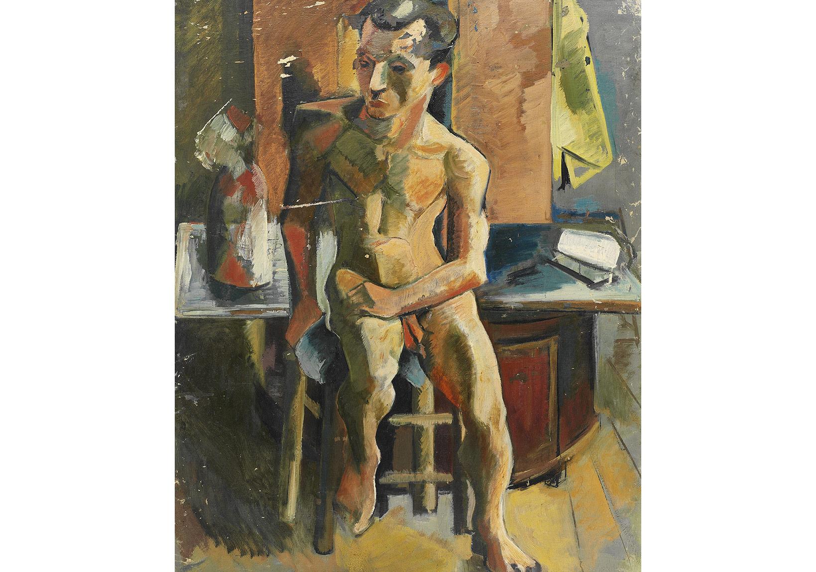 Eren Eyüboğlu, Nü (Erkek), 1942.