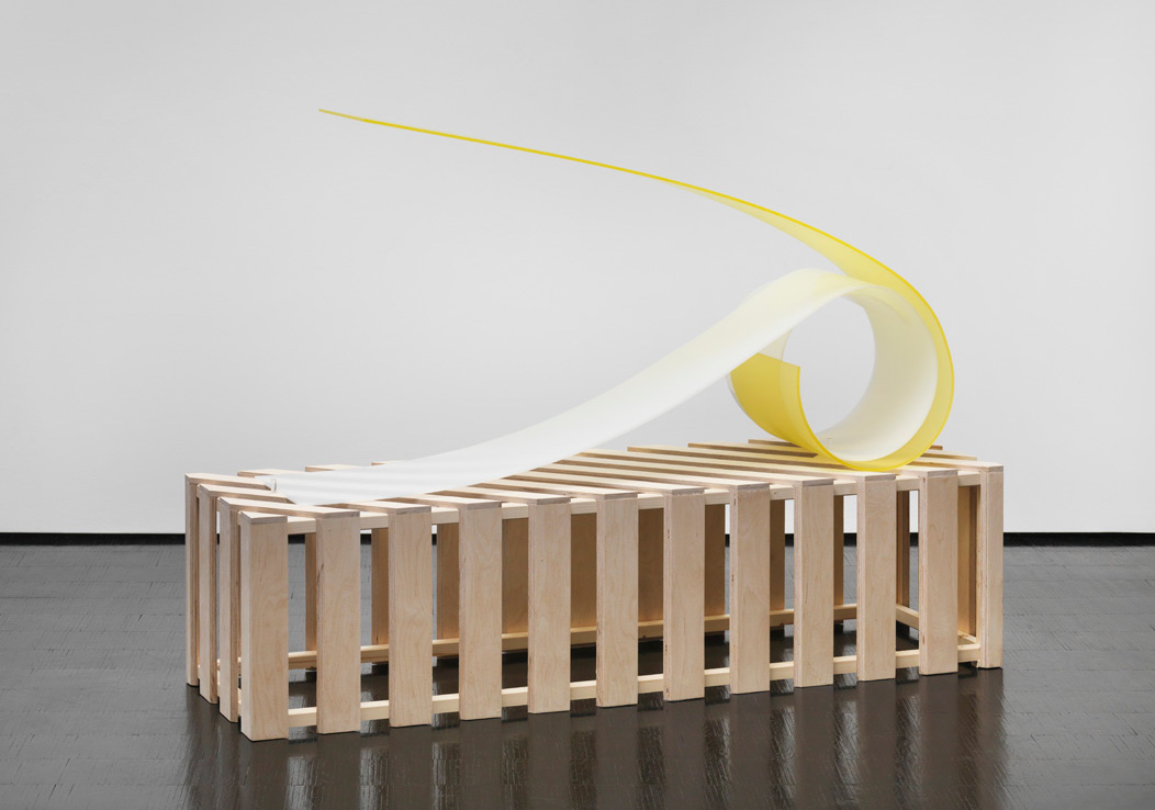 Wesenszug, 1969-2013, Plexiglass, wood