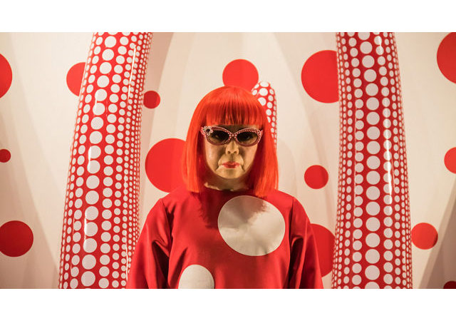 Yayoi Kusama http://www.hitc.com/en-gb/2016/01/06/saatchi-gallery-to-show-its-first-all-female-art-exhibition/