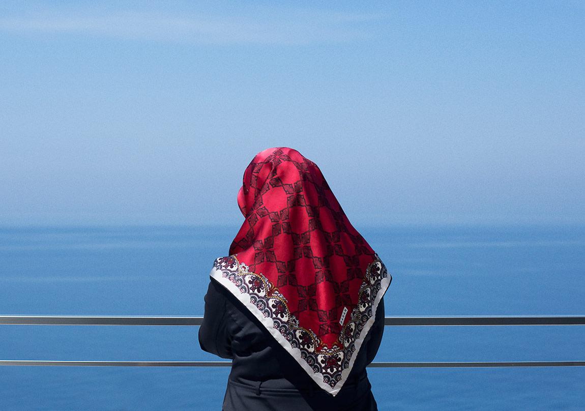 © Ekin Özbiçer, 'Auto Orientalism' serisinden, Zonguldak, 2014