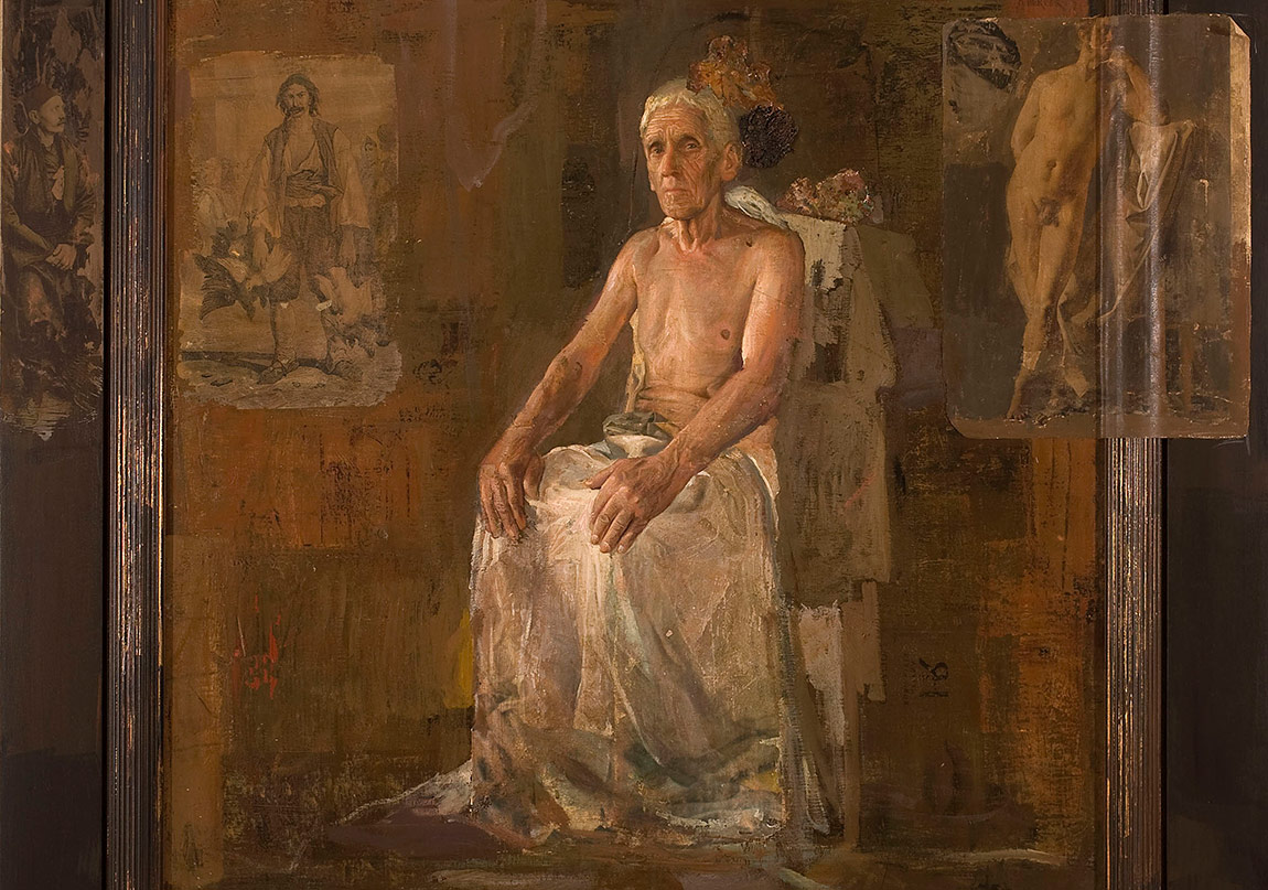 I. Süleyman Ex-patria (2004) Tuval üzerine yağlıboya, 120 x 120 cm Suleiman I Ex-patria (2004) Oil on canvas, 120 x 120 cm