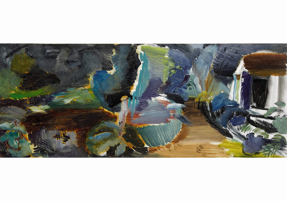 Evening Sale, Lot 14, Hitchens, The Boathouse No. 3
