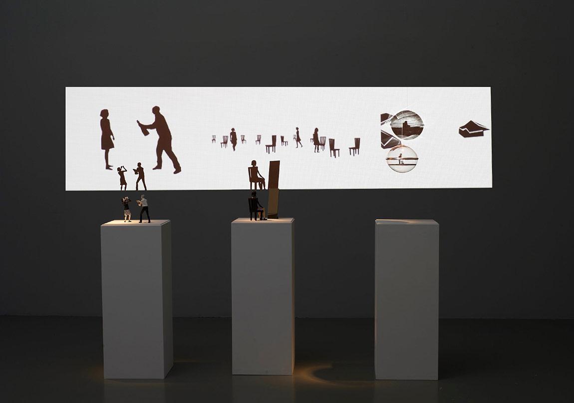 Burdayim, Ruya Manzarasi/ Dreamscape, mixed medya enstalasyonu,02 2010