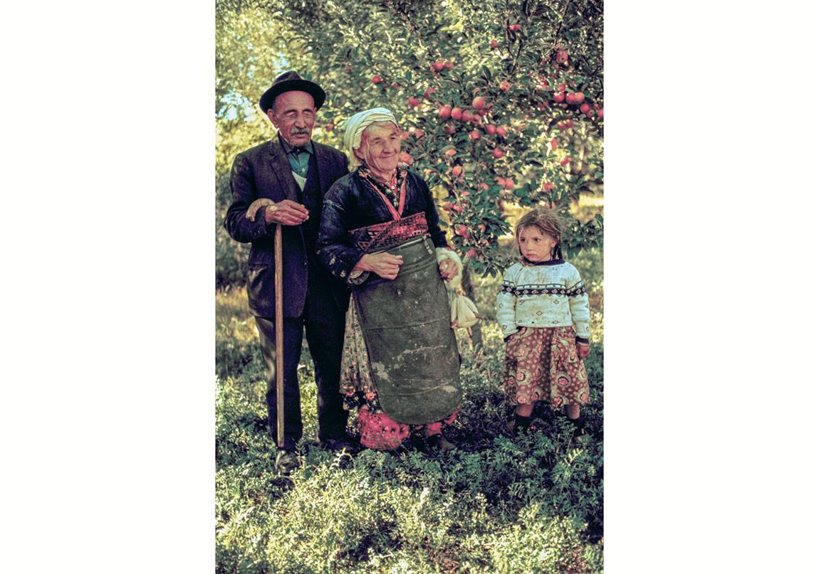 Ergun Çağatay, Aşık Veysel'in Elma Bahçesinde, Sivrialan-Sivas, 1970