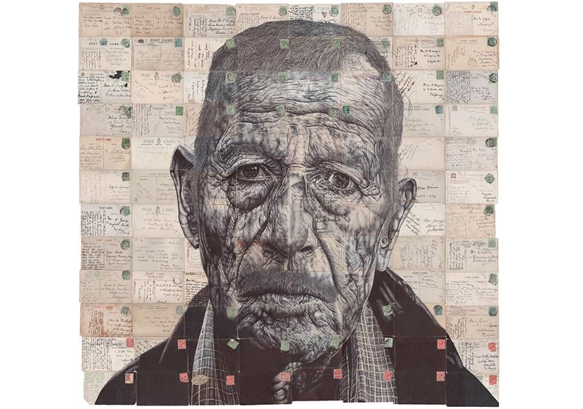 Sanatçı Mark Powell'dan Tükenmez Kalem Portreler