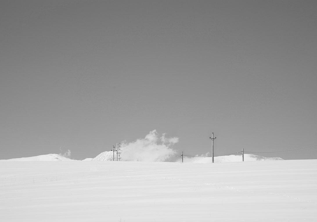 İsimsiz, 'Karbeyaz' serisinden © Abbas Kiarostami, CerModern izniyle