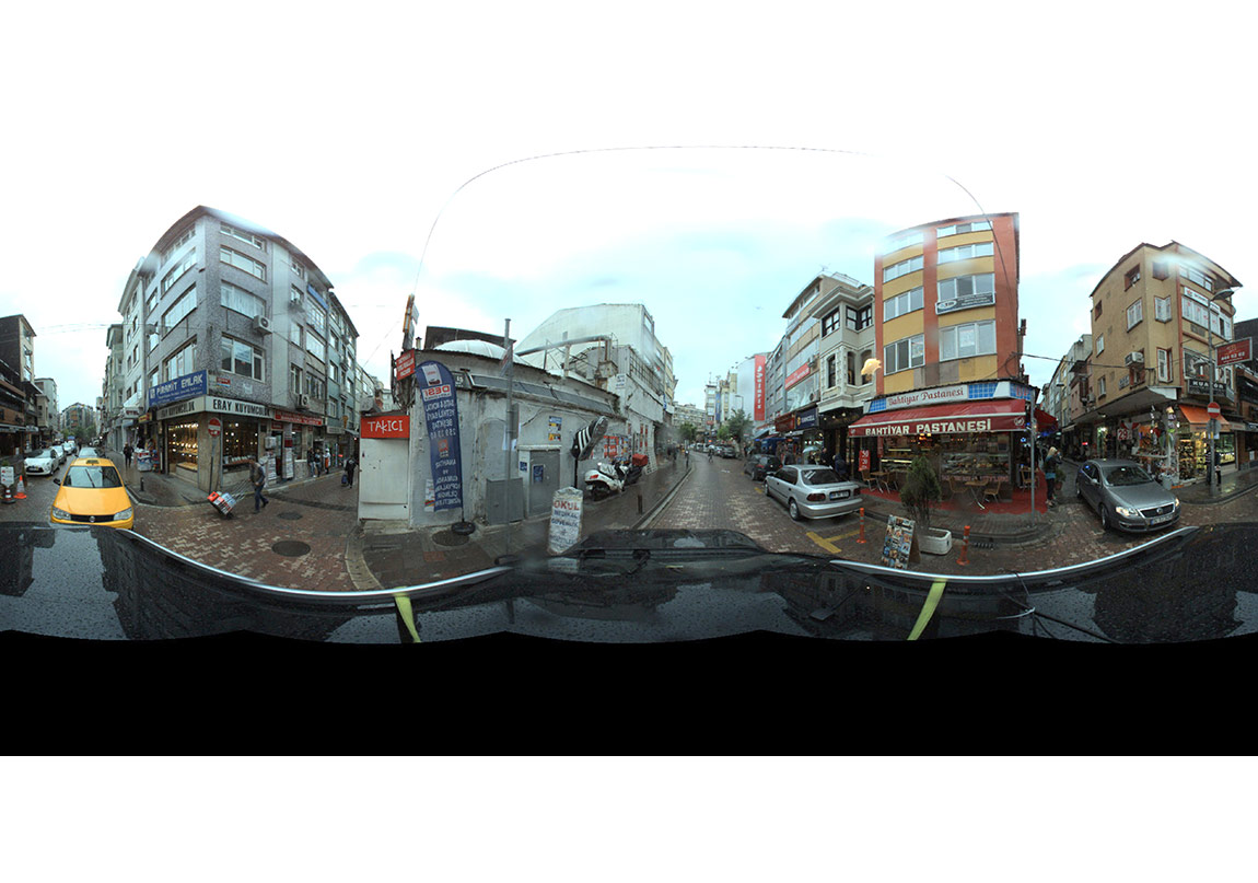 Omnidirectional videos of Istanbul - Survey of building vulnerability - Copyright German Research Centre for Geoscience, Turkish Catastrophe Insurance Pool