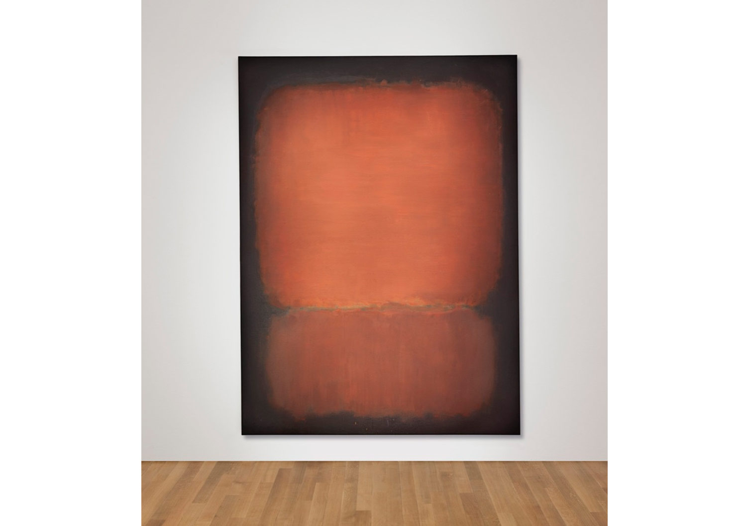 Mark Rothko, No. 10, 1958. Price Realized: $81,925,000. Courtesy of Christie's Images ltd. 2015.