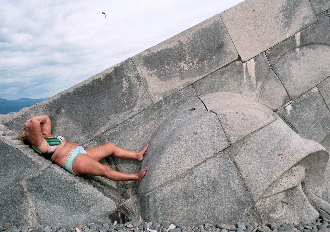 Mathias Depardon, 'Karadeniz'den Kartpostallar' serisinden