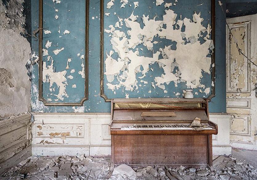 Avrupa'nın Terk Edilmiş Piyanoları