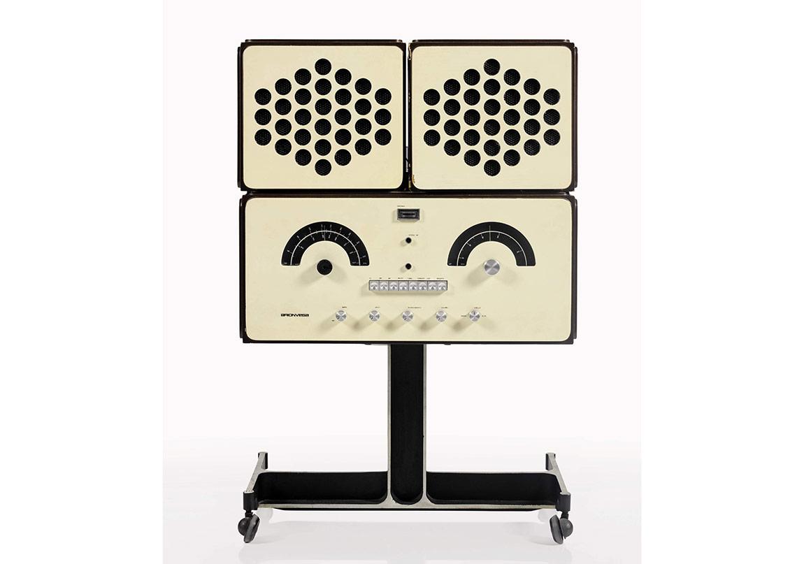 Design Sale, Lot 446, Castiglioni, Radio-phonograph, model no. RR126 (2)
