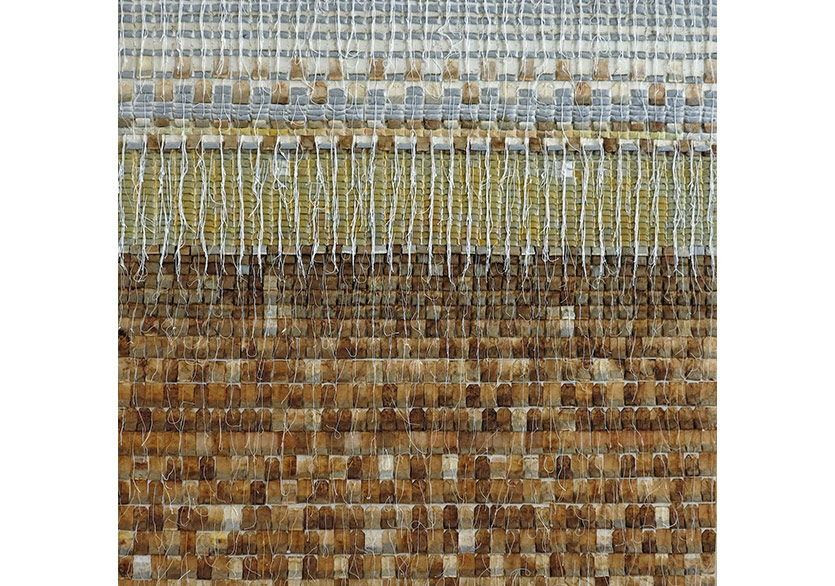 Armén Rotch_Untitled_2006_TeaBagsCollage_200x166cm, Courtesy of Galeri 77