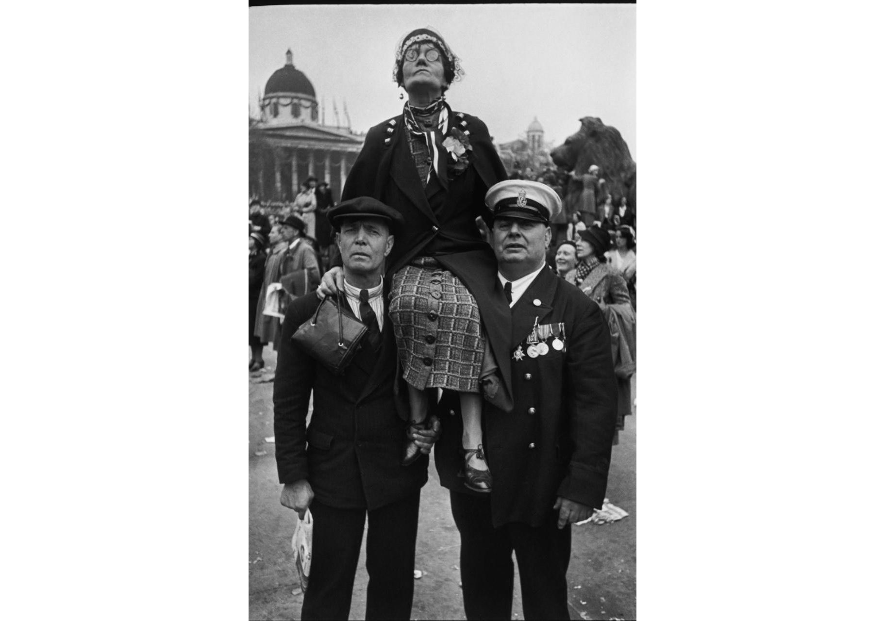 'Coronation of King George VI, Trafalgar Square, London (12 May 1937)' by Henri Cartier-Bresson CREDIT: MAGNUM PHOTOS