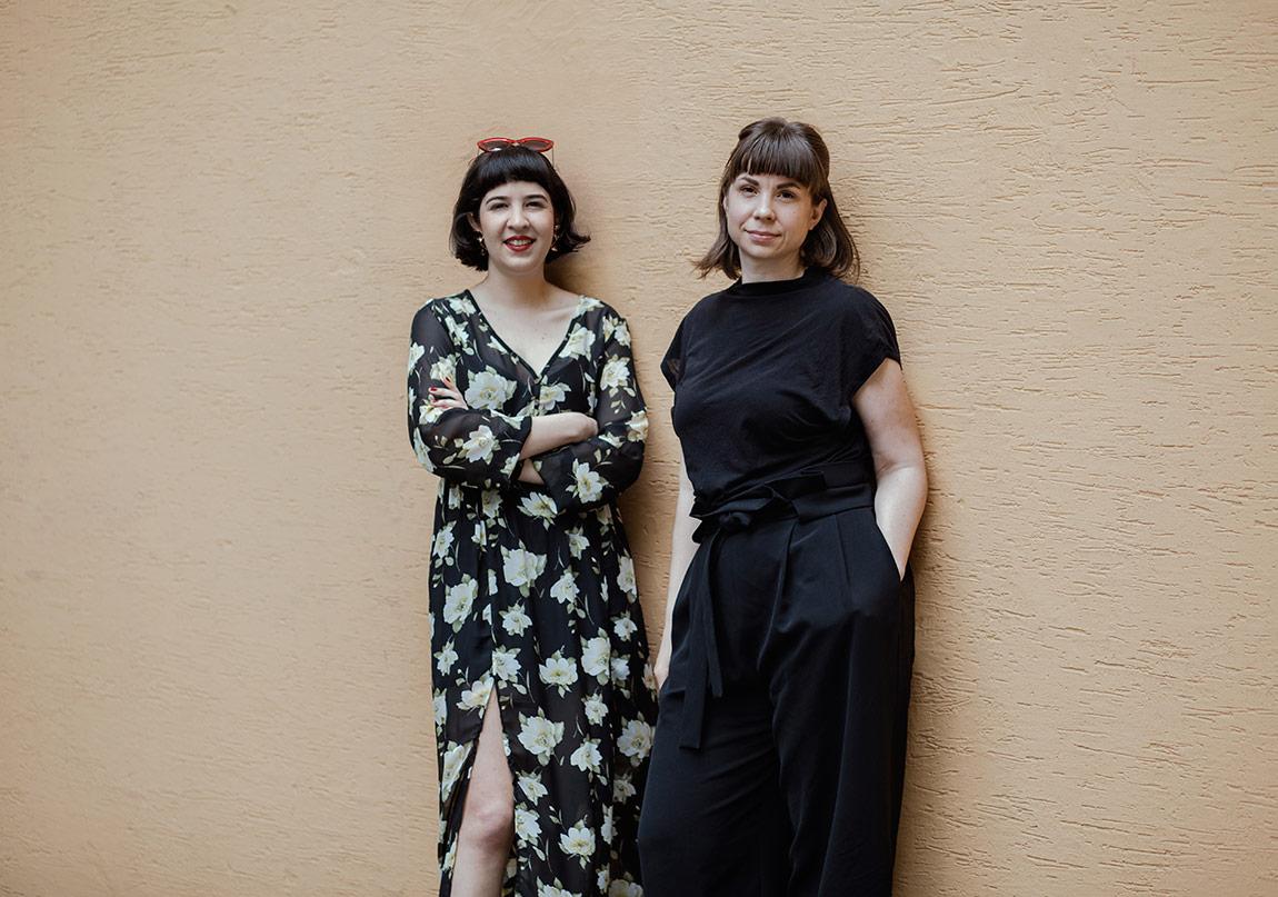 Naz Cuguoğlu ve Susanne Ewerlöf©Nazlı Erdemirel