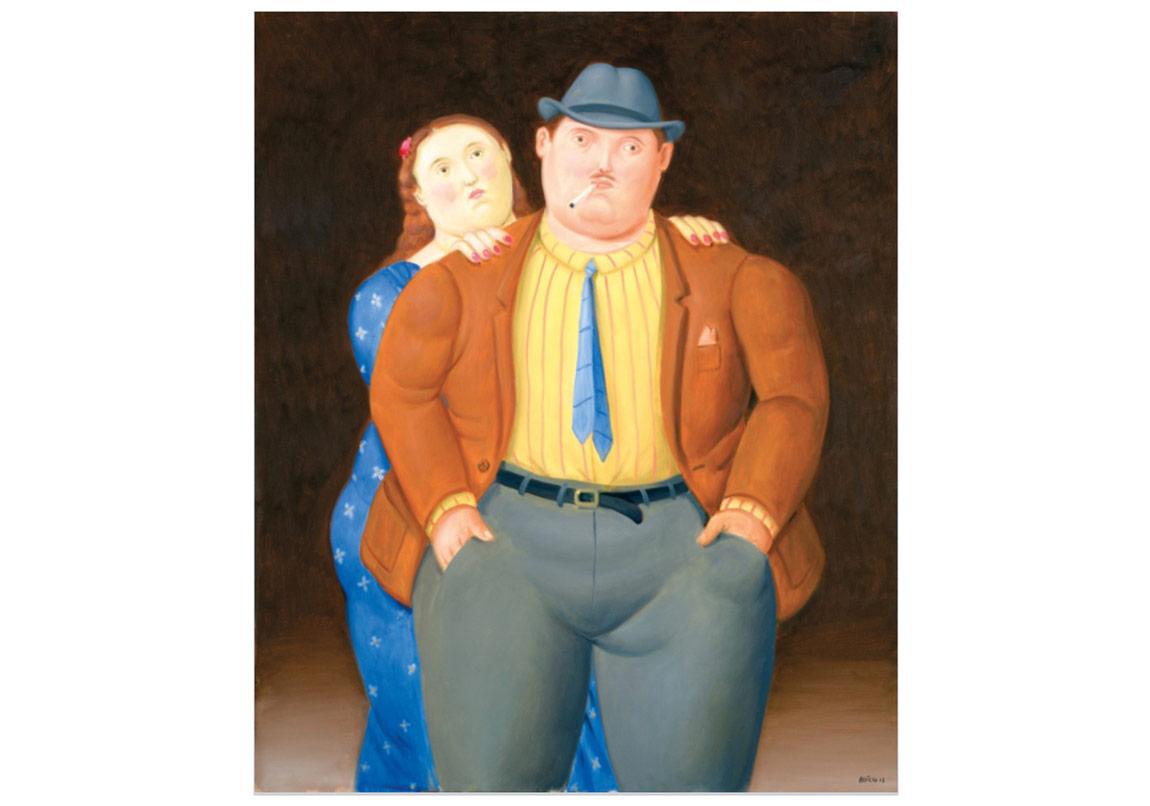 Botero'nun Şişman İnsanları Anna Laudel Contemporary'de