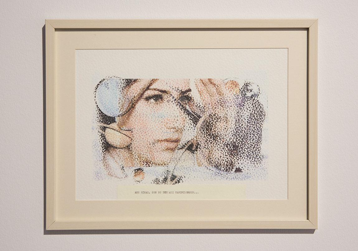 Cansu Çakar & Coşku Fertinger, Aşk-ı Memnu: Hayat İçin Öğretiyor, 2014, Kağıt üzerine dijital baskı, 34x44cm