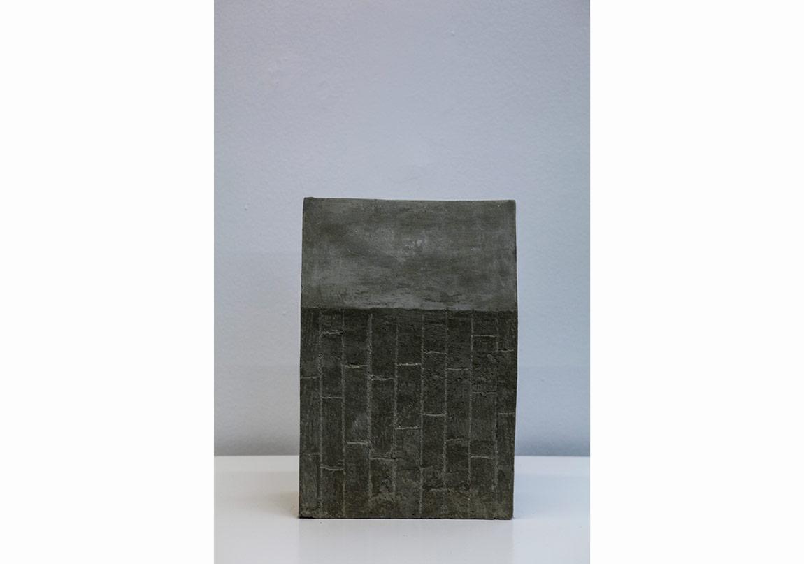 Yuşa Yalçıntaş, 1. Column, 2016, concrete, 34 x 23 x 10 cm