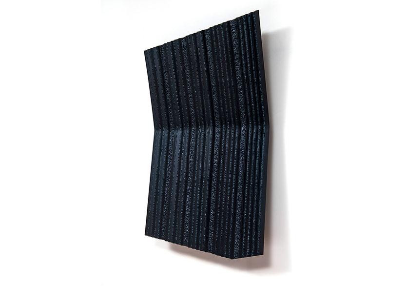 Ömer Pekin_Untitled_2019_Mixed Media on Lacquered Steel_ 90 x 62 x 11 cm_ VERSUS