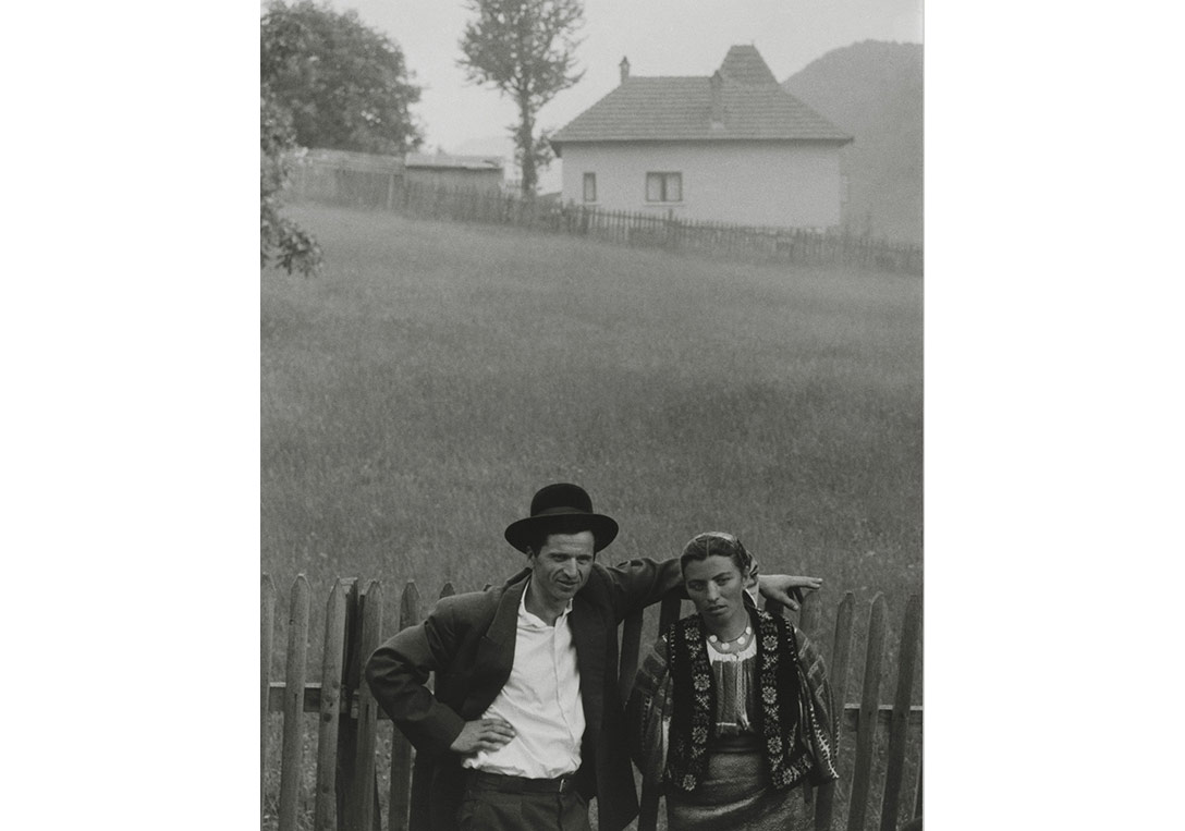 Paul Strand, American, 1890-1976, Couple, Rucăr, Romania, 1967, Philadelphia Museum of Art, The Paul Strand Retrospective, Collection, 1915-1975, gift of the estate of Paul Strand, 1980 © Paul Strand Archive/Aperture Foundation