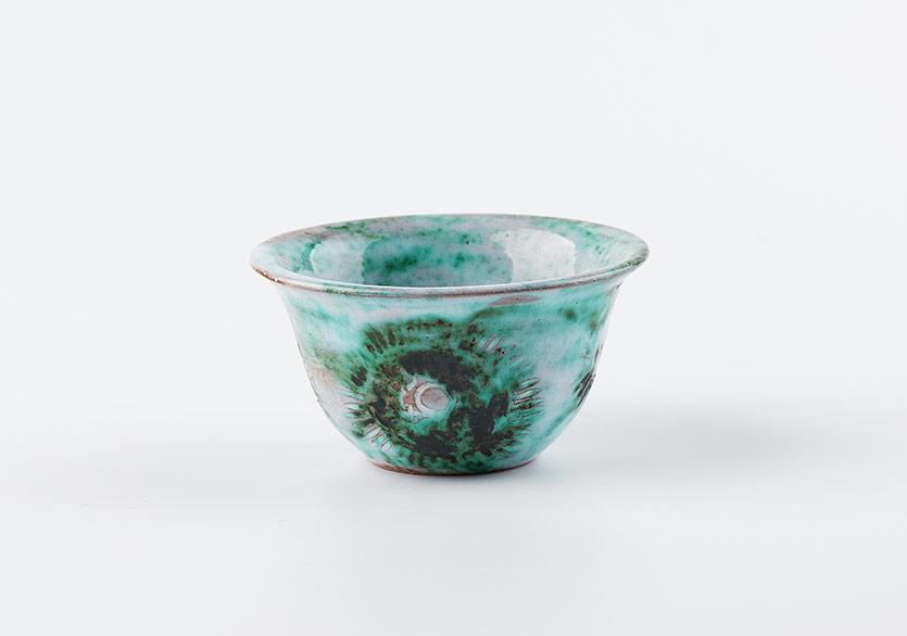 Seramik kahve fincanı, 8 × 5,5 cm, Rabia Çapa Koleksiyonu