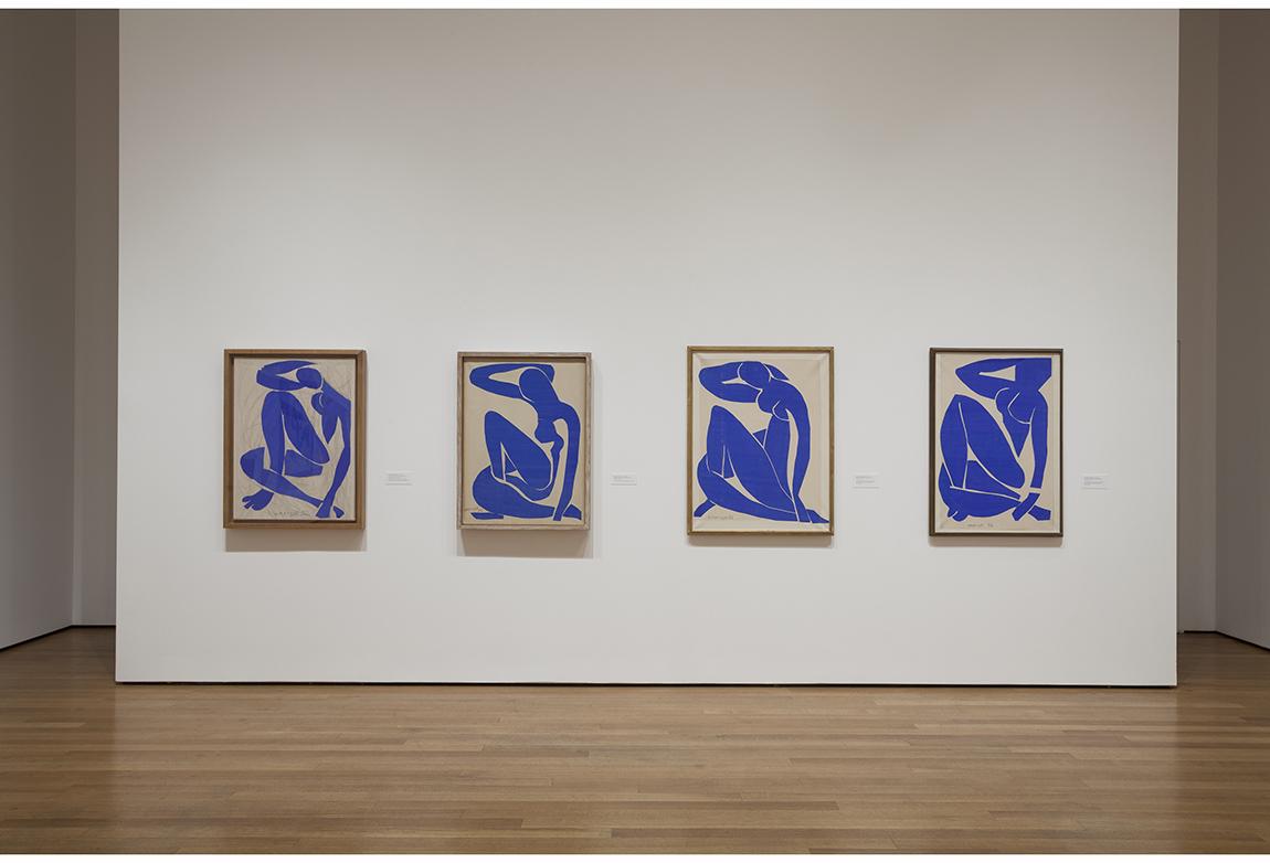 Enstelasyon Görünümü, Henri Matisse: The Cut-Outs at The Museum of Modern Art, New York (12 Ekim 2014-8 Şubat, 2015). Fotoğraf: Jonathan Muzikar. © 2014 The Museum of Modern Art