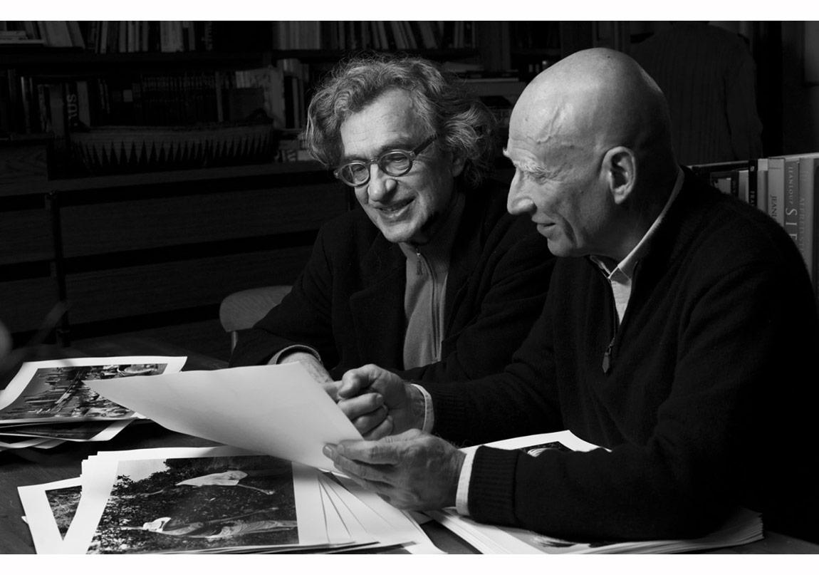 Wim Wenders ve Sebastião Salgado © Donata Wenders