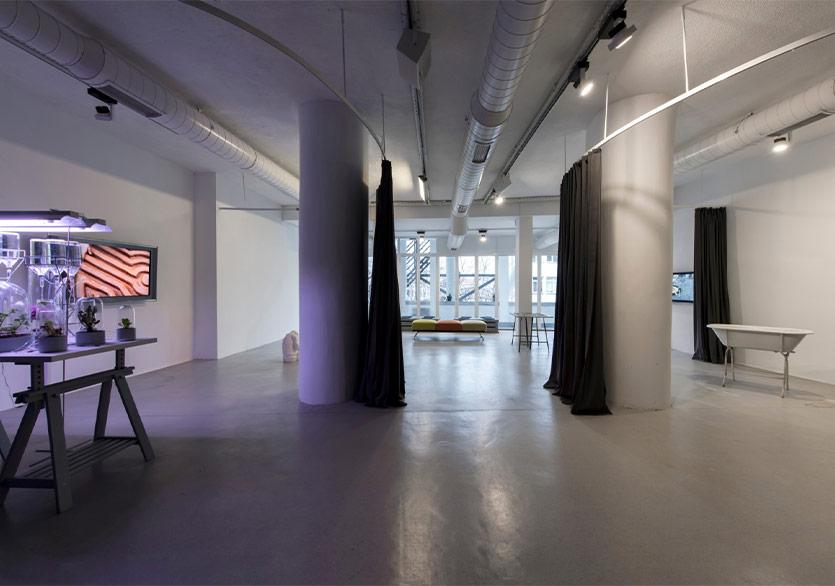 Beş Sanatçı ile Dönem Sonu Buluşması SAHA Studio'da