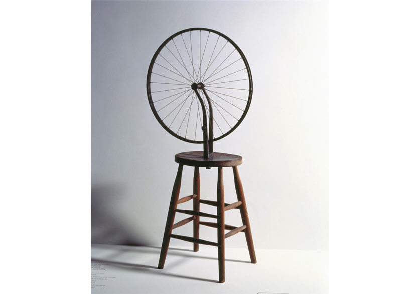 Marcel Duchamp, BicycleWheel, 1693