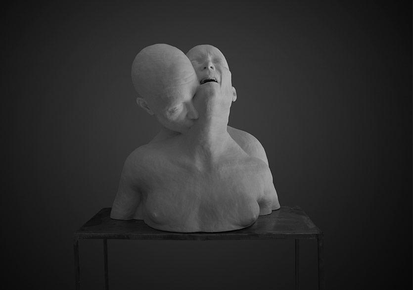 Hande Şekerciler,İsimsiz, 2018, Epoksi, 72x49.5x70.5 cm