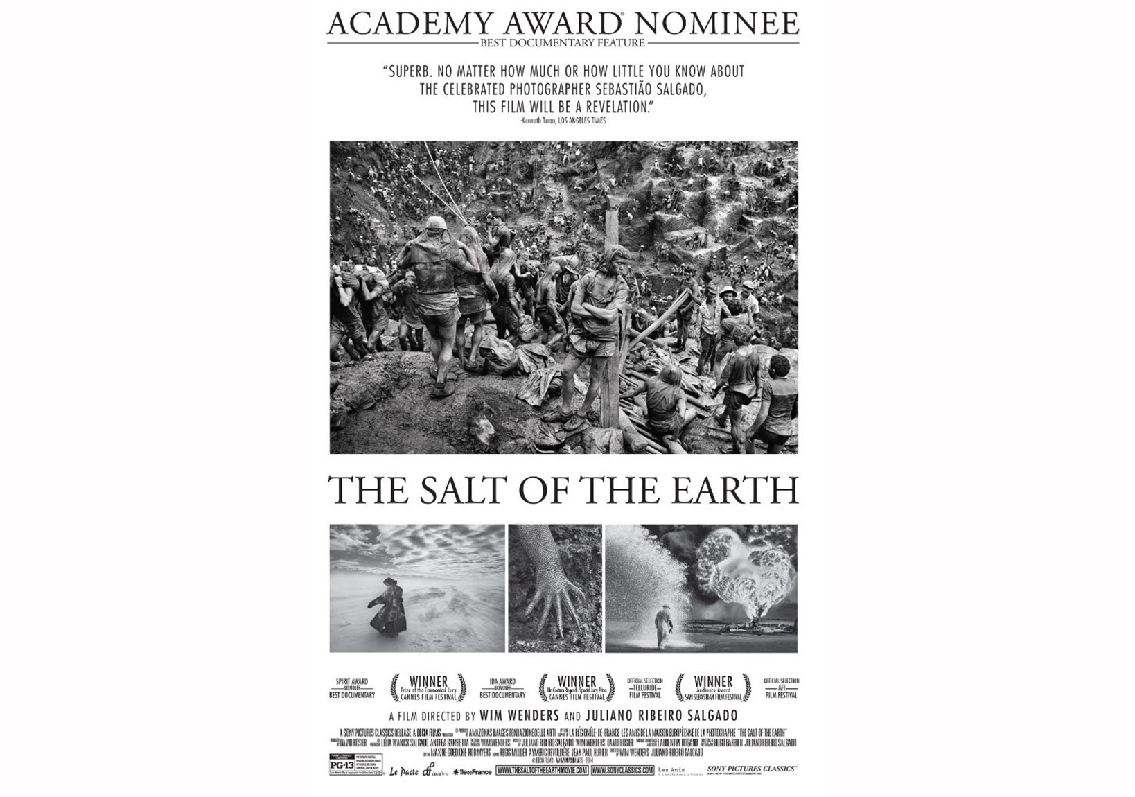 'The Salt of the Earth' ABD afişi