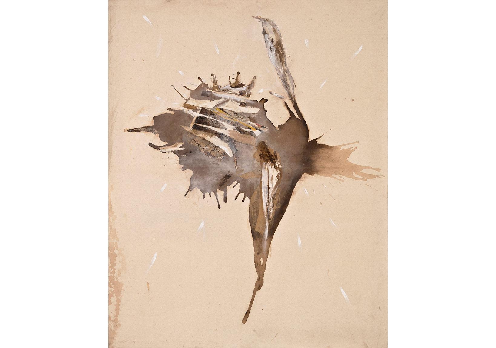 Sihir 2014, tuval üzerine karışık teknik, 125 x 155 cm