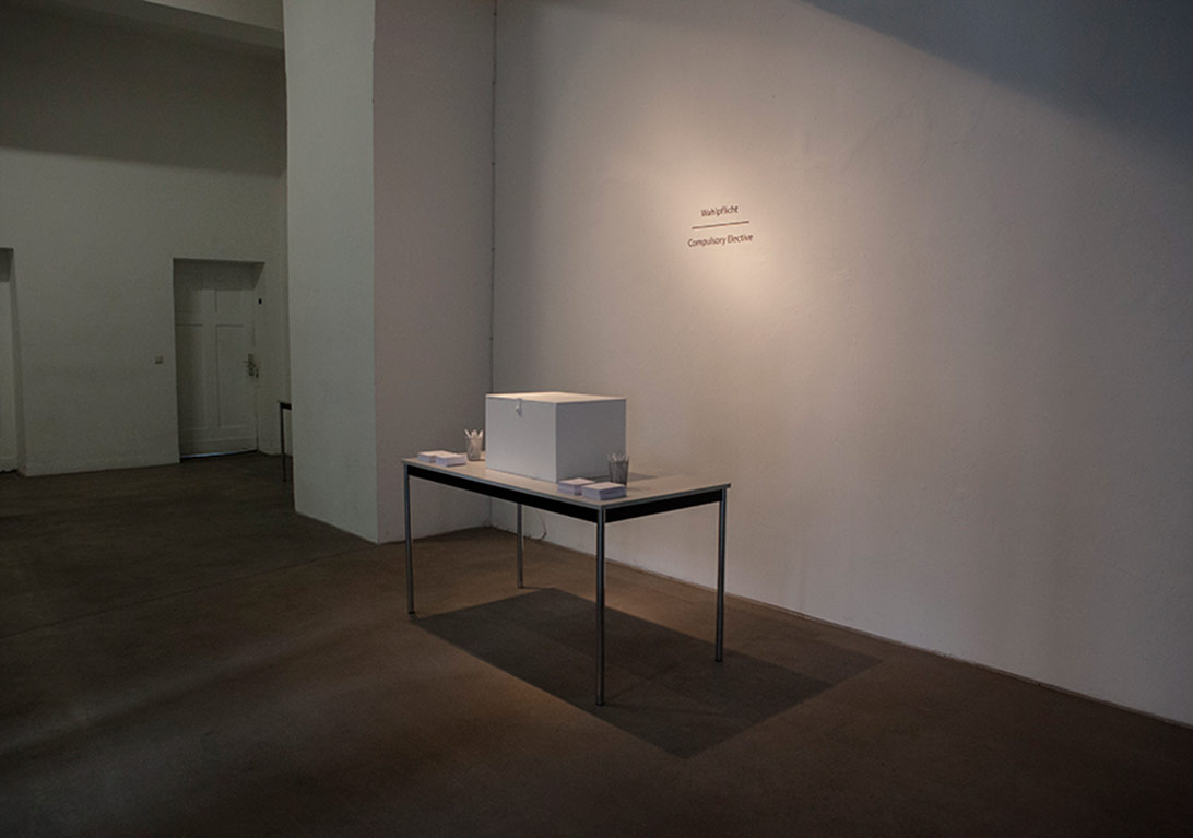 Installation View from The Space/İstanbul – Künstlerhaus Dortmund / Dortmund