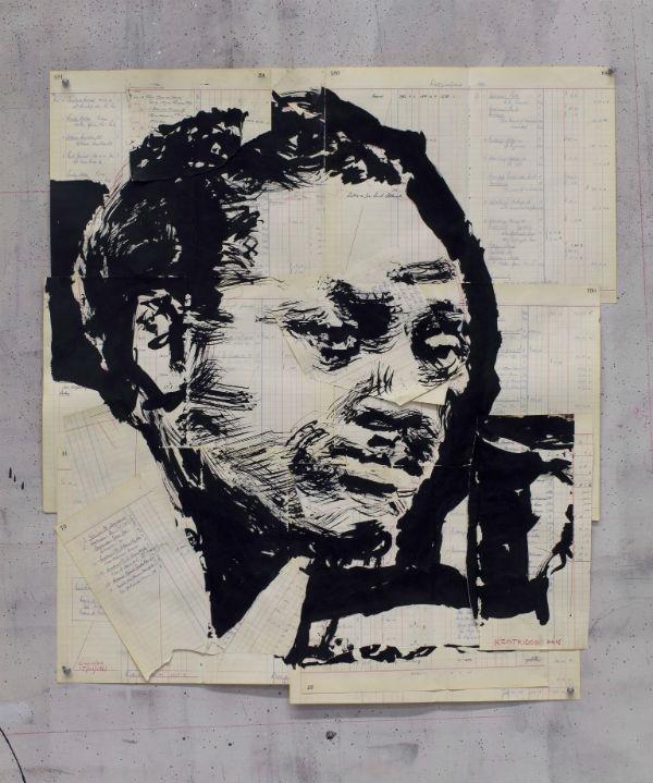 William Kentridge,Untitled (Patrice Lumumba III)(2016)